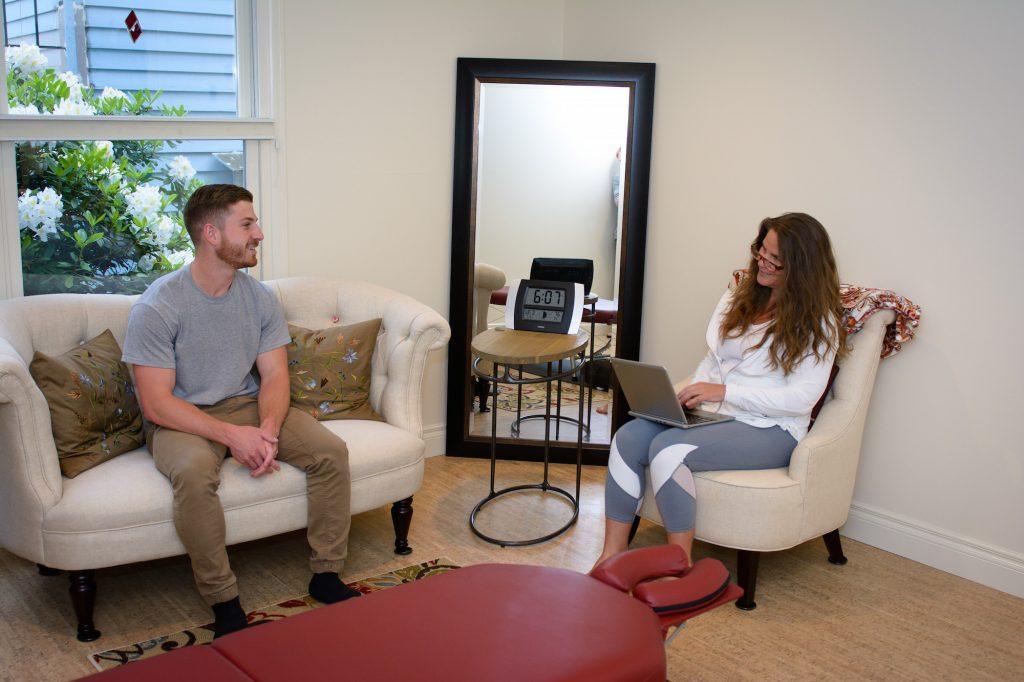 yoga and chiropractor portland oregon, Thrive intake meeting
